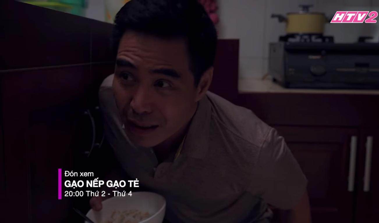 Gạo Nếp Gạo Tẻ tập 23: Khán giả rớt nước mắt khi doanh nhân Kiệt ngày nào giờ ăn cơm thừa canh cặn nơi xó bếp