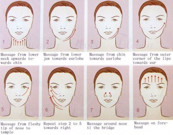 Hướng dẫn massage mặt tại nhà chuẩn spa