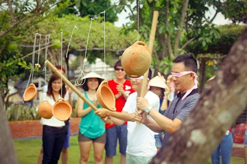 Cuộc đua kỳ thú cho gia đình ở khu sinh thái Diễn Lâm