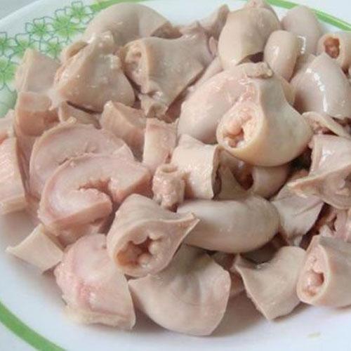 Tràng lợn xào dứa - món ngon tuyệt cho chồng mùa World Cup