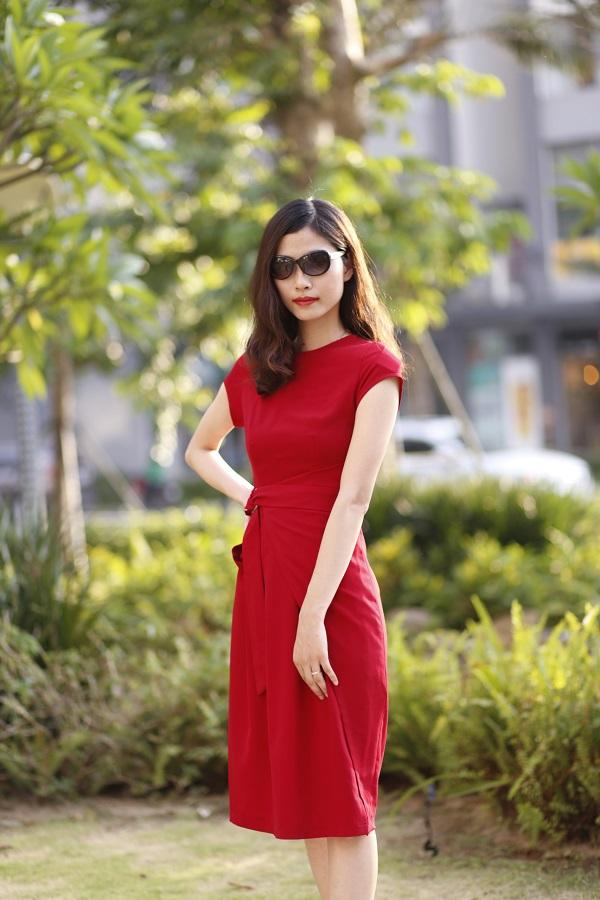 7 mẫu váy thời trang công sở mới nhất hè 2018