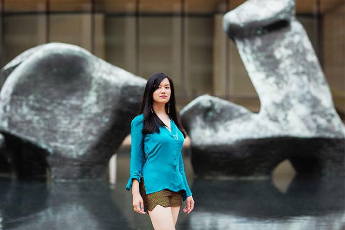 Cô gái gốc Việt tự học lập trình, xây dựng Wikipedia dành riêng cho nữ