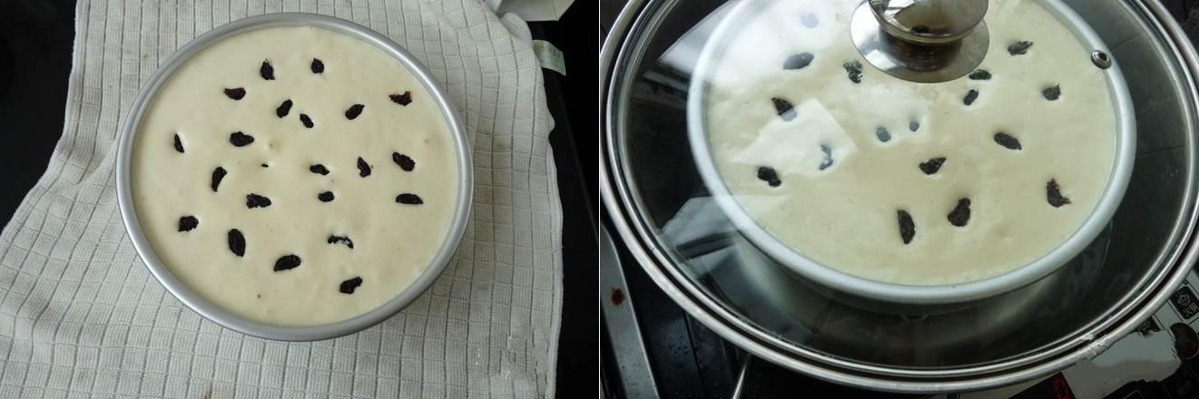Chẳng cần lò nướng vẫn làm được bánh bông lan nho xốp mềm thơm ngon