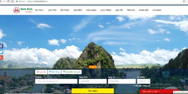 Du lịch thông minh tại Ninh Bình
