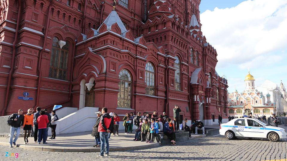 Tới thăm Quảng trường Đỏ nước Nga mùa World Cup
