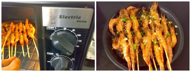 Món ngon cuối tuần: Tôm nướng xiên