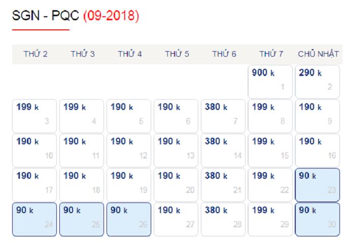 Lưu ý khi đặt vé máy bay giá rẻ đến Phú Quốc mùa hè