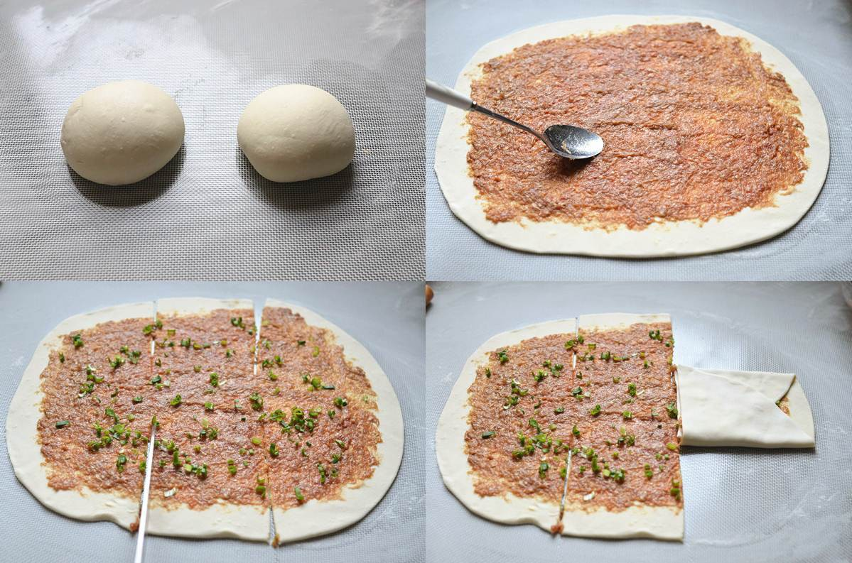 Thử ngay món bánh rán ngàn lớp nhân thịt bò ngon sửng sốt