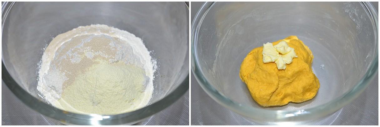 Bánh bao bí đỏ mịn mượt thơm phức đổi món cho bữa sáng
