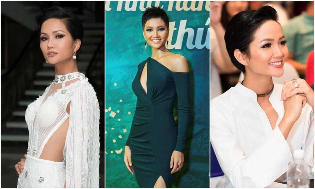Hoa hậu H'Hen Niê: Sẽ mang tóc ngắn đến Miss Universe 2018