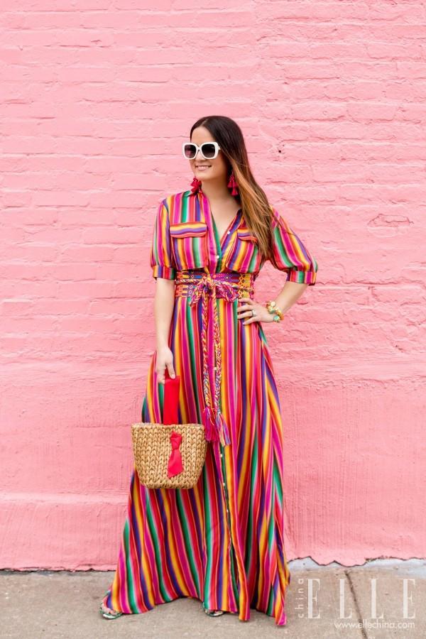 Chân ngắn đừng sợ, cứ tự tin mặc váy maxi!