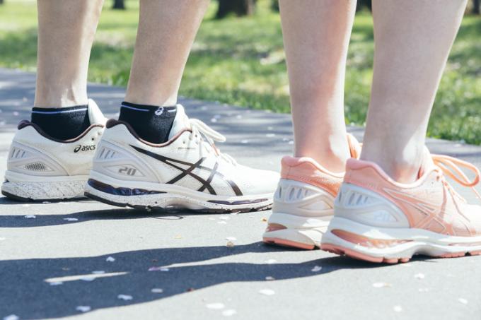 asics ra mắt BST giày thể thao Sakura lấy cảm hứng từ hoa anh đào