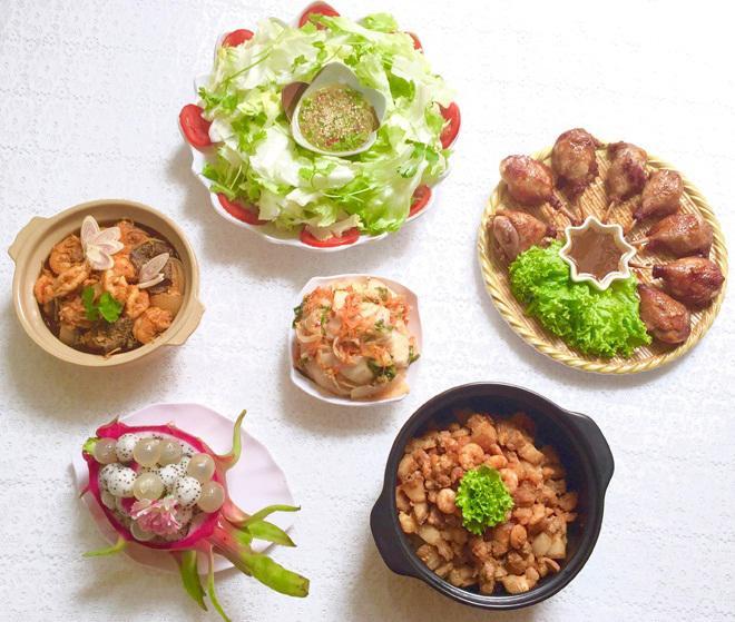 Mẹ Sài Gòn gợi ý thực đơn cả tuần để chị em đỡ phải nghĩ Tối nay ăn gì