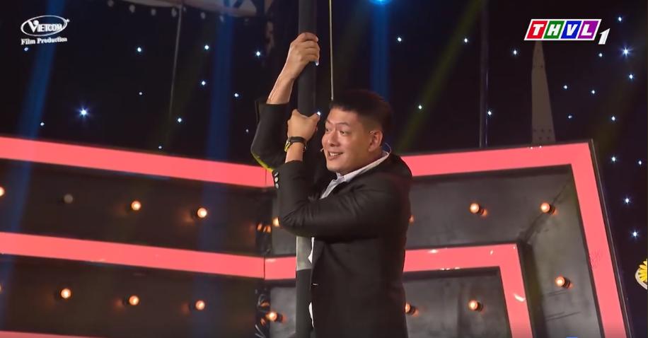 Người Nghệ Sĩ Đa Tài tập 5 mùa 2: Bình Minh đọ tài trèo cột với Lê Dương Bảo Lâm