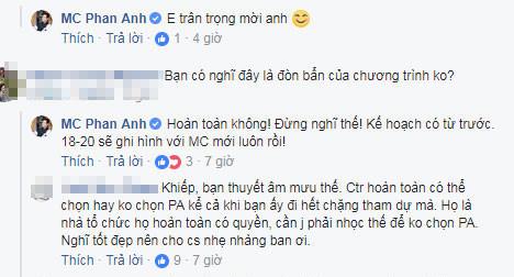 Phan Anh đáp trả mạnh mẽ trước tin đồn mất cơ hội dẫn Ai là triệu phú do bị chơi xấu