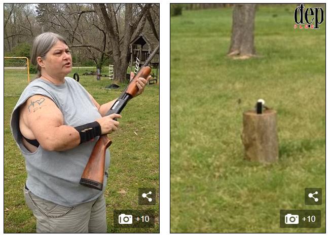 Cấm con dùng mạng xã hội, bà mẹ Mỹ dùng súng bắn tan tành chiếc iPhone của con