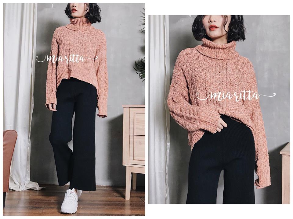 Gợi ý shop bán áo len siêu đẹp cho các nàng công sở