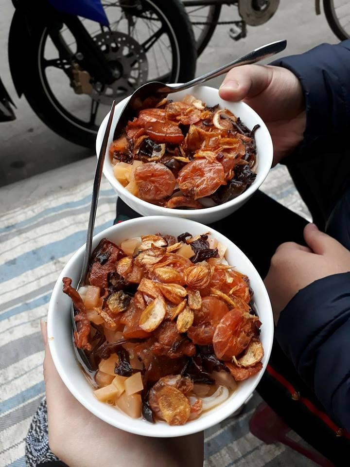 Bánh đúc tàu - món ăn vỉa hè cộp mác Hải Phòng