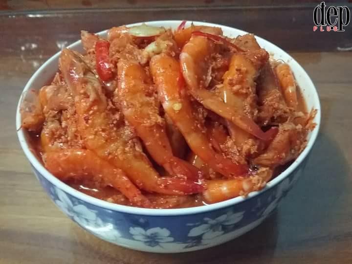 Cách làm tôm chua đậm chất Huế