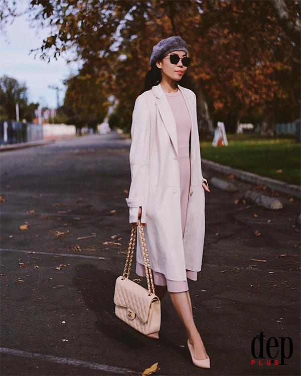 10 set đồ đảm bảo vừa đẹp vừa ấm cho nàng mê chân váy