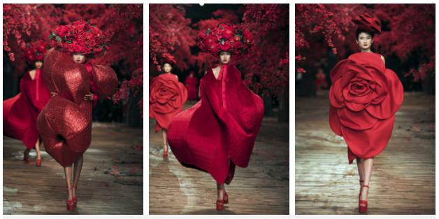 Chỉ một màu đỏ duy nhất, Đỗ Mạnh Cường vẫn tạo nên BST mãn nhãn cho show diễn kỷ niệm 10 năm sự nghiệp