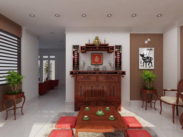 Cách đặt ban thờ căn hộ chung cư hợp phong thủy, rước tài lộc vào nhà