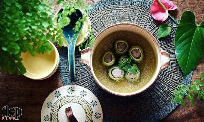 Canh khổ qua nấu thịt - món ăn không thể thiếu của người Nam Bộ ngày Tết