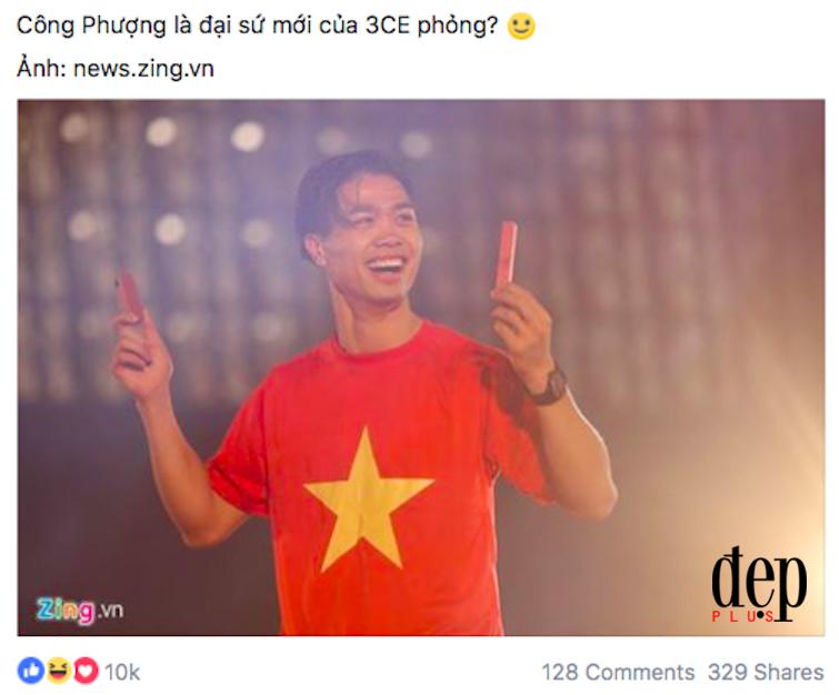 Lễ mừng công U23 Việt Nam: Hồng Duy Pinky hớn hở khi được Mỹ Tâm quảng cáo son miễn phí!