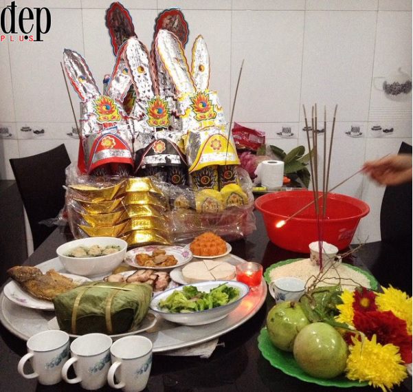 Các món ăn phải có trong mâm cơm cúng ông Công ông Táo