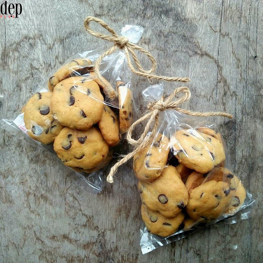 Cách làm bánh quy chocolate chip ngon giòn xinh xắn đãi khách ngày Tết