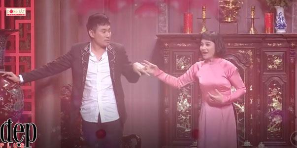 Ơn giời cậu đây rồi Mùa 4 Tập 11: Cát Phượng bày tỏ tình yêu với phi công trẻ Kiều Minh Tuấn