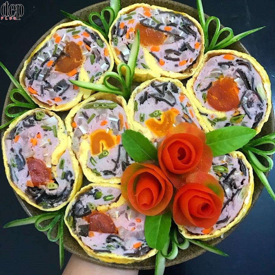 Cùng làm giò hoa làm quà biếu Tết độc, đẹp, lạ