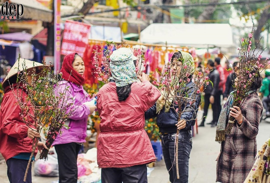 5 chợ hoa nhất định phải ghé ở Hà Nội dịp Tết Nguyên đán