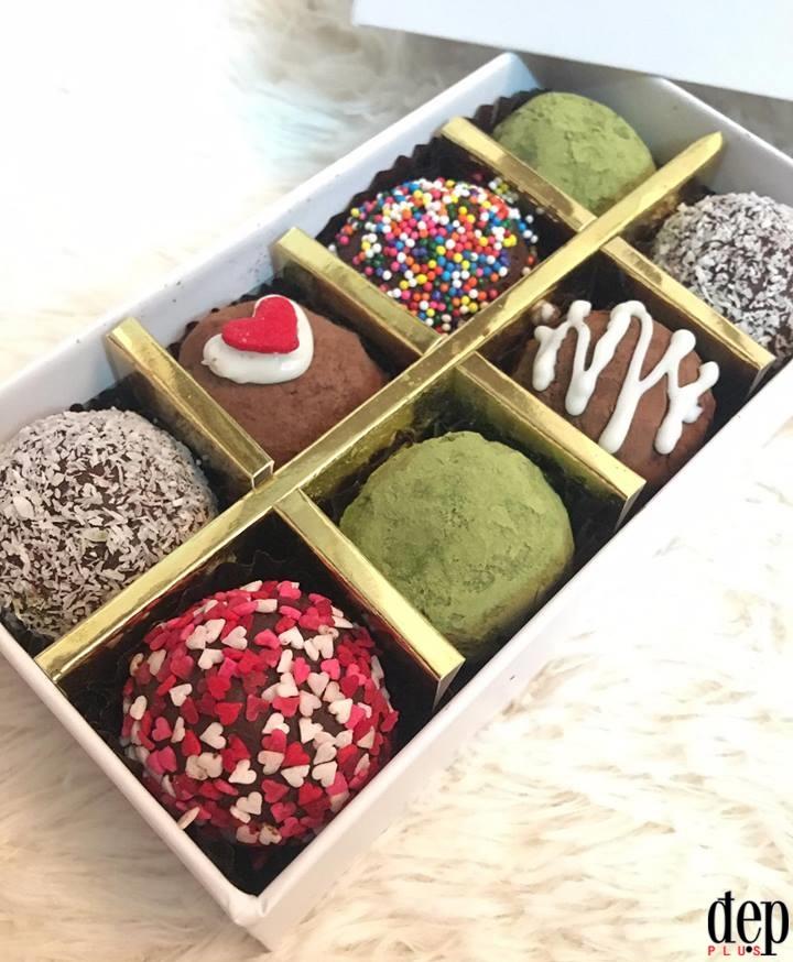 Tự tay làm truffle chocolate ngon, rẻ, đẹp và ý nghĩa tặng người yêu ngày Valentine