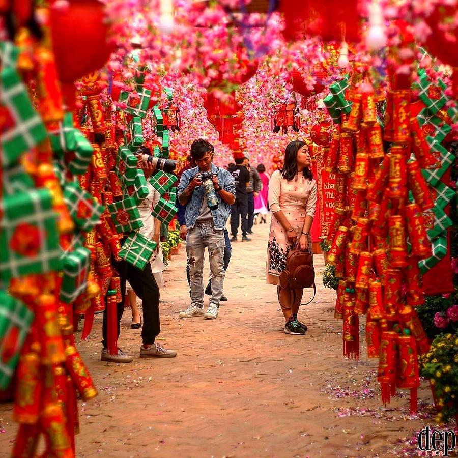 10 địa điểm chụp ảnh Tết Nguyên đán Mậu Tuất đẹp nhất Hà Nội (phần 2)