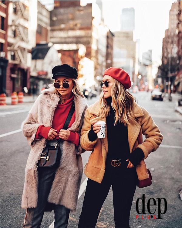 Những gam màu nóng mix cùng sắc đỏ giúp bạn trẻ trung nổi bật trong ngày Tết