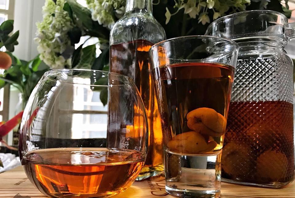 Đi lễ chùa Hương đừng quên mua mơ về làm rượu mơ kiểu Nhật