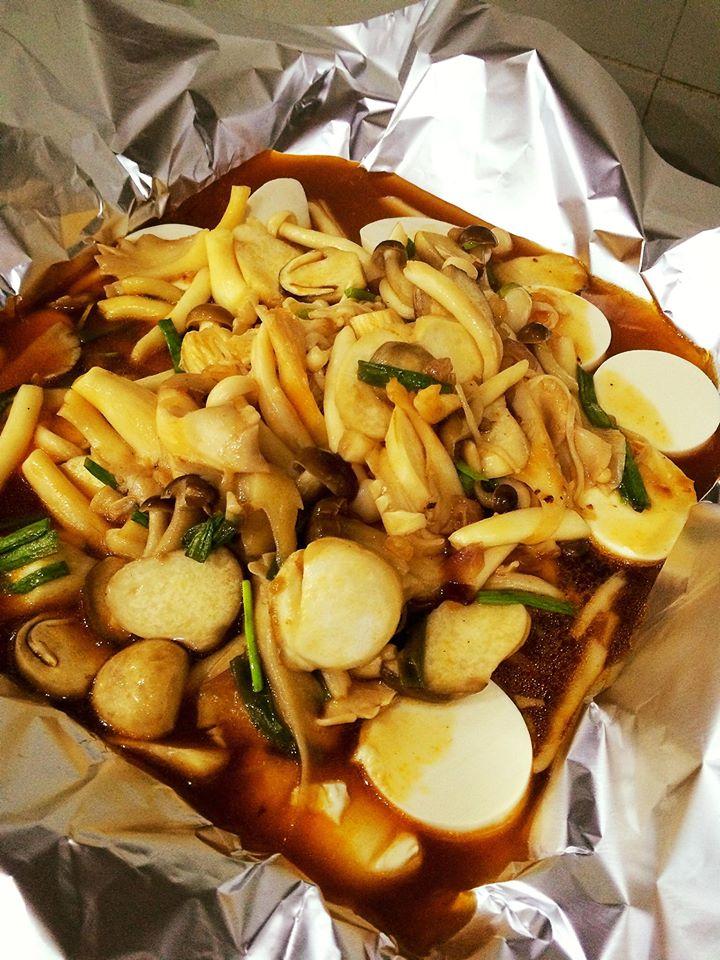 Cách làm đậu phụ non nướng giấy bạc - món ngon chống ngán sau Tết