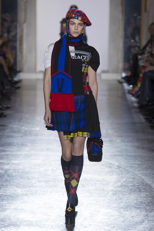 Versace ra mắt bộ sưu tập Thu Đông 2018