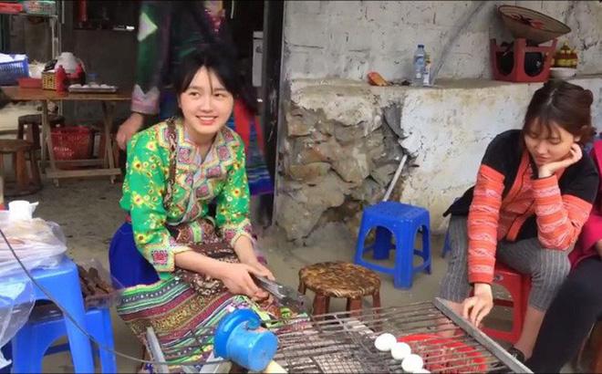 Cận cảnh nhan sắc quá đỗi xinh đẹp của thiếu nữ bán cơm lam đang gây sốt mạng xã hội