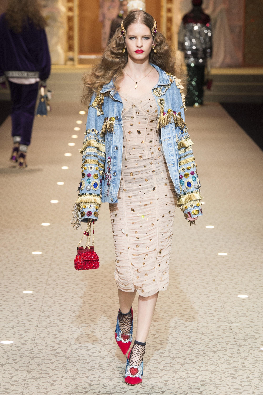 Mãn nhãn với bộ sưu tập Dolce & Gabbana Fall 2018