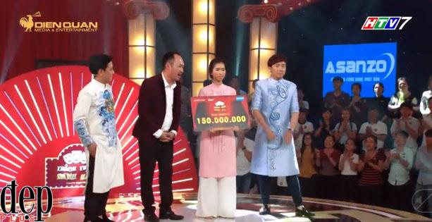 Gala Thách Thức Danh Hài Mùa 4: Nữ sinh Đà đá đa lại thắng 150 triệu nhờ hát đi hát lại bài Một con vịt