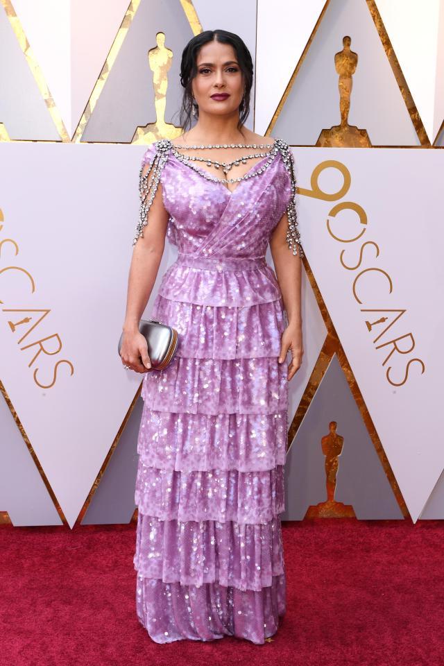 Thảm đỏ Oscar 2018 đẹp xuất sắc nhưng cũng không thiếu những pha thảm họa