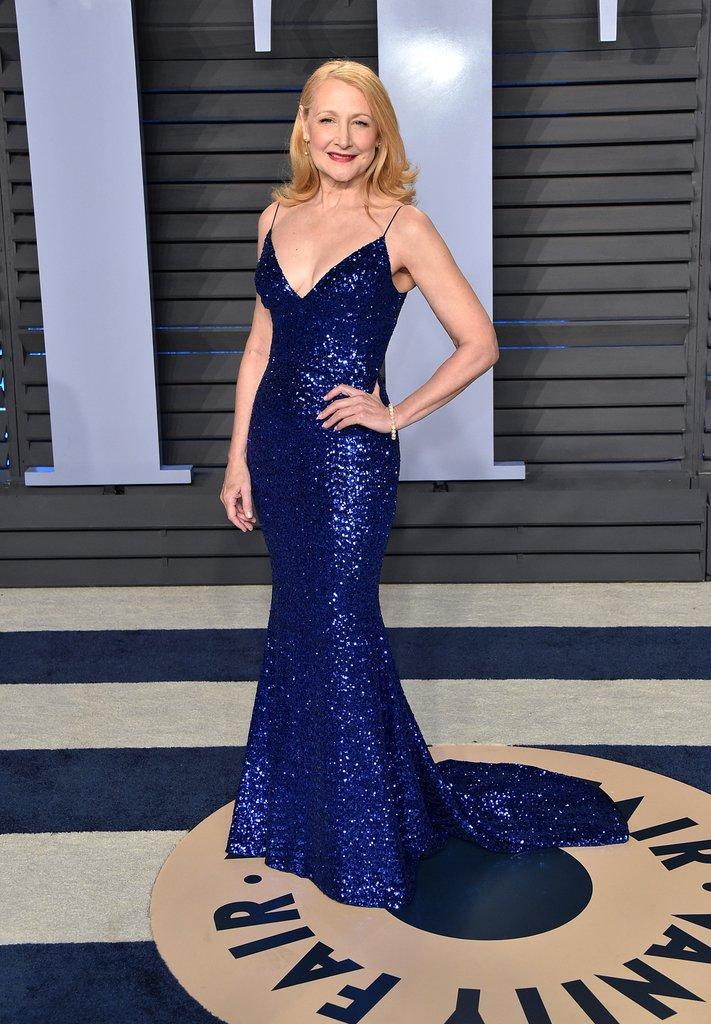 Tiệc hậu Oscar 2018: Sao vô danh gây sốc khi phô ngực trần dự sự kiện