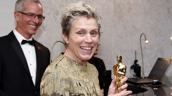 Nữ diễn viên chính xuất sắc nhất tại Oscar bị trộm tượng vàng