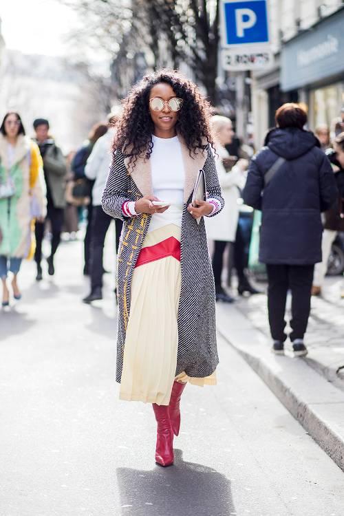 Các fashionista đã lăng xê xu hướng nào tại street style Paris FW Fall 2018