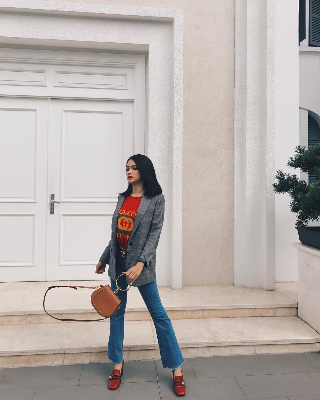Hoa hậu Chuyển giới Quốc tế Hương Giang - Tín đồ đích thực của Gucci