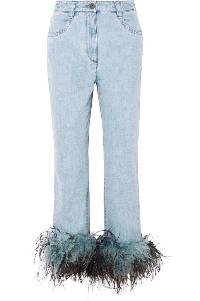 Xu hướng quần jeans đáng chú ý nhất Xuân Hè 2018