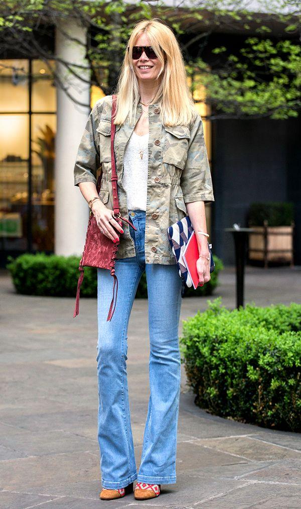 Gợi ý giúp bạn mặc jeans phong cách 70s chuẩn trend thật sành điệu