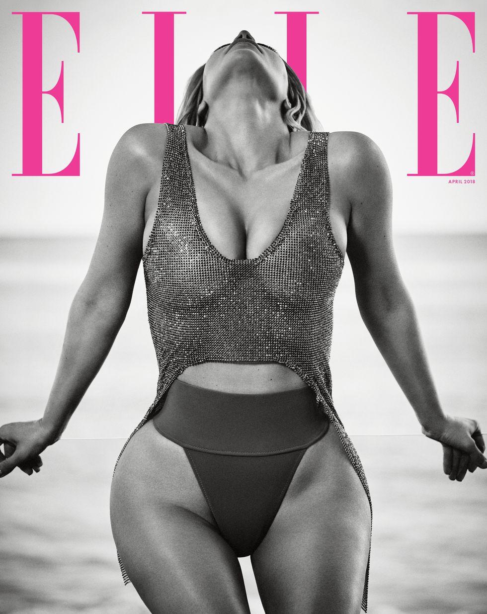Không khoe da thịt quá nhiều, Kim Kardashian vẫn đẹp xuất sắc trên tạp chí Elle